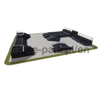 Modular skatepark 580115