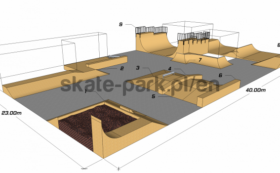 Sample skatepark 340311