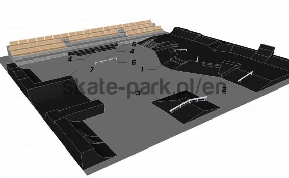 Sample skatepark 501010