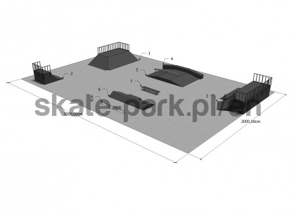 Sample skatepark 671009
