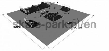 Sample skatepark 850411