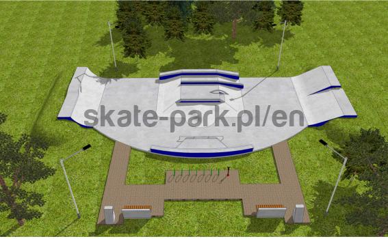 Skatepark betonowy 02062020