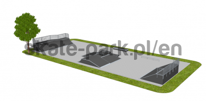 Skatepark modułowy OF2008043NW