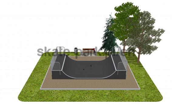 Skatepark modułowy OF2008075NW