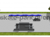 Skatepark z elementem pumptrack Line