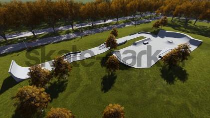 Concrete skatepark 652515