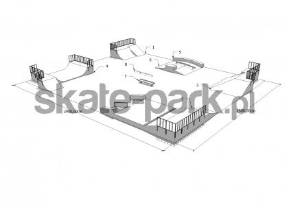 Przykładowy skatepark 070209