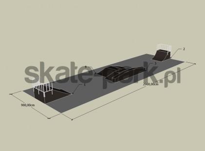 Przykładowy skatepark 110110