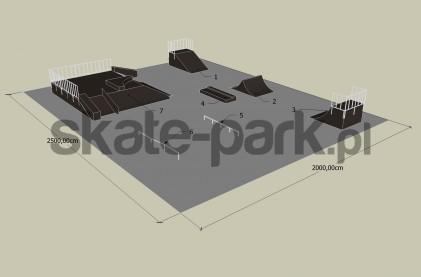 Przykładowy skatepark 121009