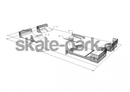 Przykładowy skatepark 130109