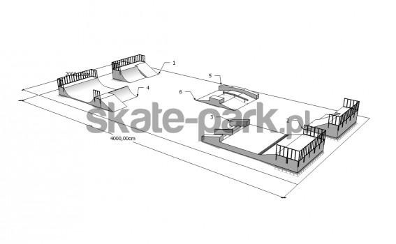 Przykładowy skatepark 140509
