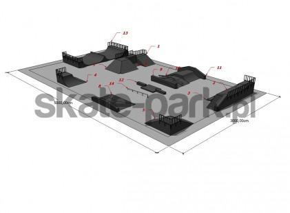 Przykładowy skatepark 190109