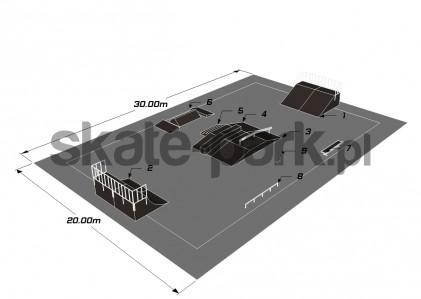 Przykładowy skatepark 210310