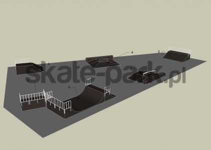 Przykładowy skatepark 350709