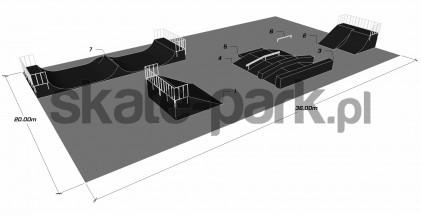 Przykładowy skatepark 740611
