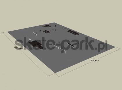 Przykładowy skatepark 990609