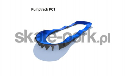 Pumptrack modulaire PC1