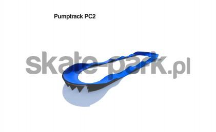 Pumptrack modulaire PC2
