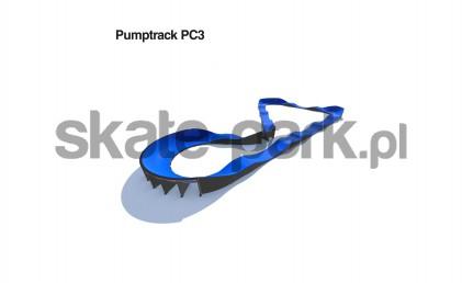 Pumptrack modulaire PC3