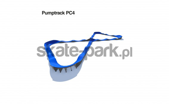 Pumptrack modulaire PC4