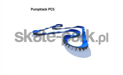 Pumptrack modulaire PC5
