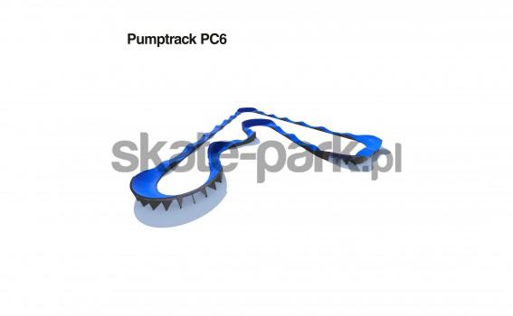 Pumptrack modulaire PC6