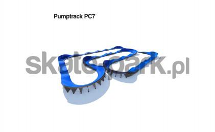 Pumptrack modulaire PC7