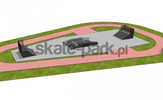 Skatepark modułowy OF2006085NW