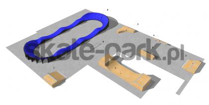 Skatepark modułowy OF2006122NW
