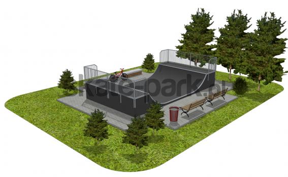 Skatepark modułowy OF2008121NW