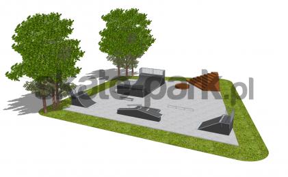 Skatepark modułowy OF2008167NW