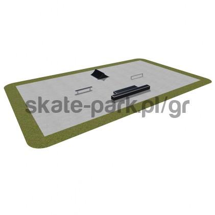 Modular skatepark 390115