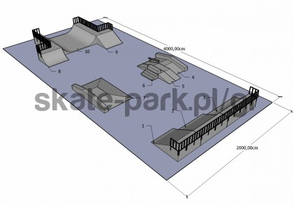 Sample skatepark 360410