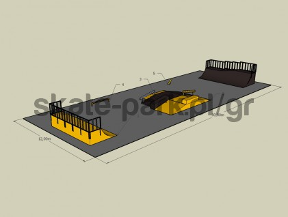 Sample skatepark 400310