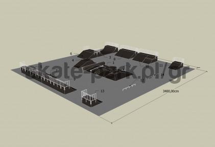 Sample skatepark 410909