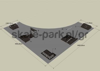 Sample skatepark 610709