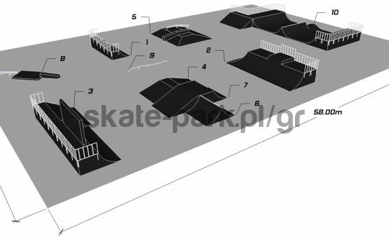 Sample skatepark 670611