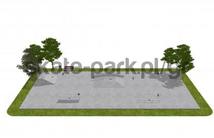 Skatepark betonowy OF2008016NW