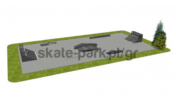 Skatepark modułowy OF2006089NW