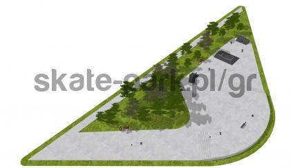 Skatepark modułowy OF2007124NW