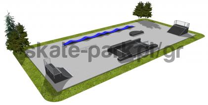 Skatepark modułowy OF2008102NW