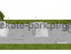 Skatepark w technologii light concrete