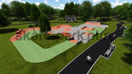 Concrete skatepark 081514