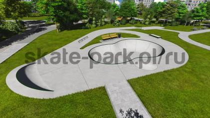 Concrete skatepark 112015