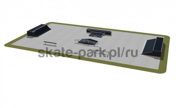 Modular skatepark 490115