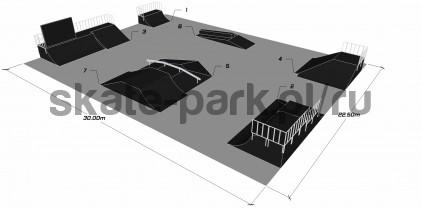 Sample skatepark 180511