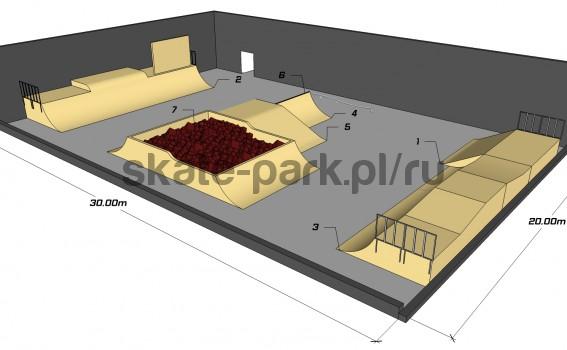 Sample skatepark 340511