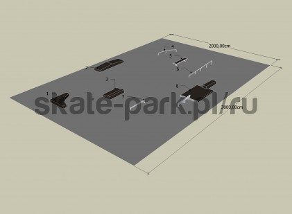 Sample skatepark 420909