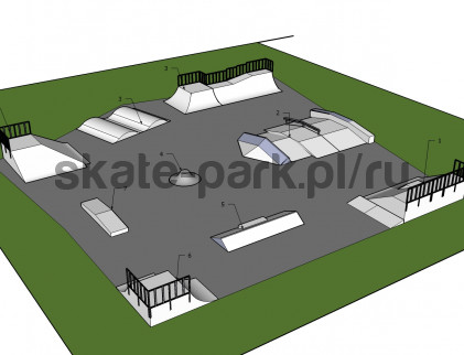 Sample skatepark 450910
