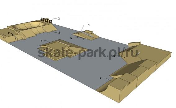 Sample skatepark 530611